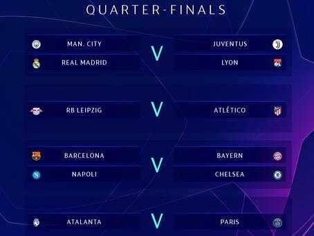 As falácias que rodearam o sorteio da Liga dos Campeões da Europa
