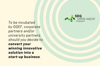 Incubator of SDGs
