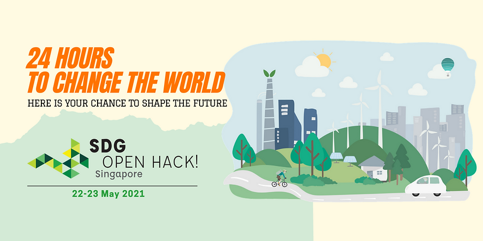 SDG Open Hack Singapore 2021