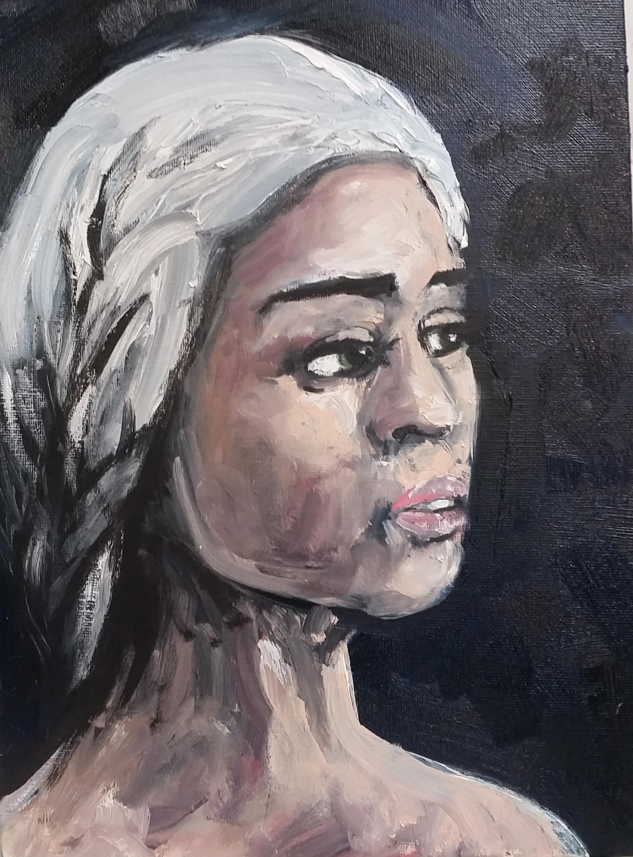 Khaleesi from Game of Thrones