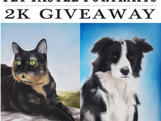 The Instagram 2k Giveaway from Pet Pastel Portraits