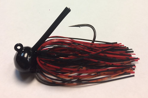 Tournament Grade OWNER Cherry Pepper Football Jig