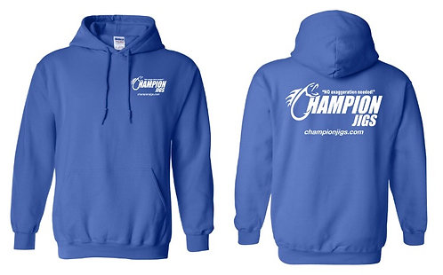 Champion Jigs Royal Blue Hoodie