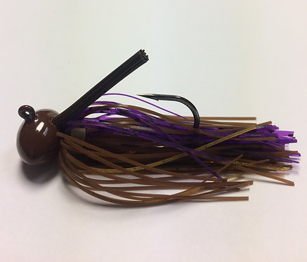 Tournament Grade MUSTAD PB & J Craw Football Jig