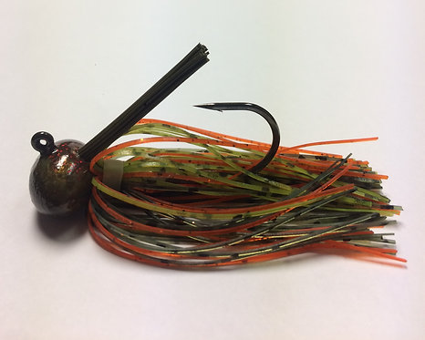 Tournament Grade MUSTAD Oops / Bluegill Craw Football Jig