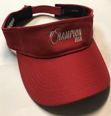 Red Champion Jigs Visor