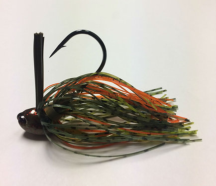 Tournament Grade MUSTAD Oops / Bluegill Craw Brush Jig