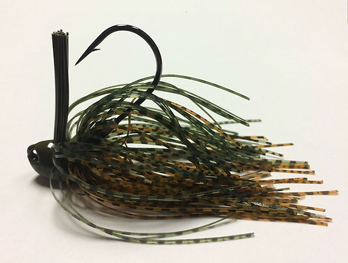 Tournament Grade MUSTAD Fall Craw Brush Jig