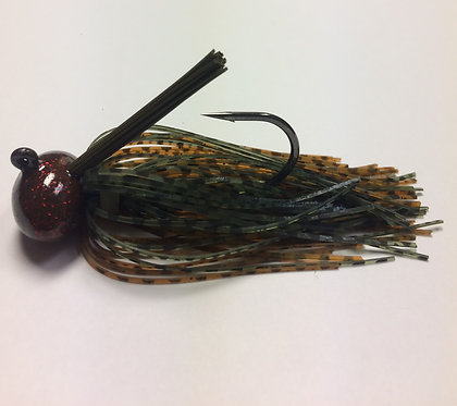 Tournament Grade MUSTAD Fall Craw Football Jig