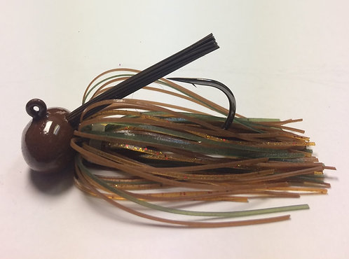 Tournament Grade MUSTAD Shock-a-wala Craw Football Jig