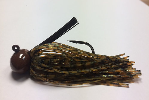 Tournament Grade OWNER Bourbon Craw Football Jig
