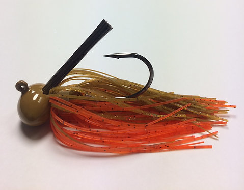Tournament Grade GAMAKATSU Orange Crush Football Jig