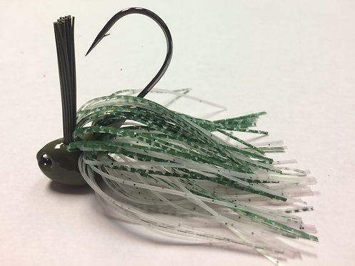 Tournament Grade MUSTAD Baby Bass Brush Jig