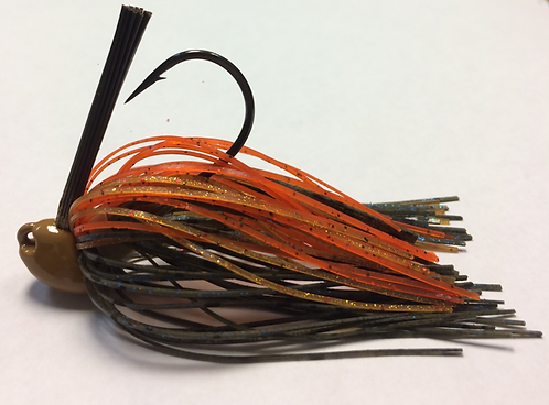 Tournament Grade MUSTAD Rocky Top Splash Brush Jig