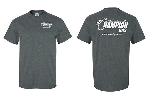 Champion Jigs T-Shirt Dark Heather Color