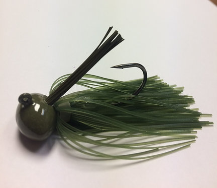 Tournament Grade GAMAKATSU Watermelon Craw Football Jig