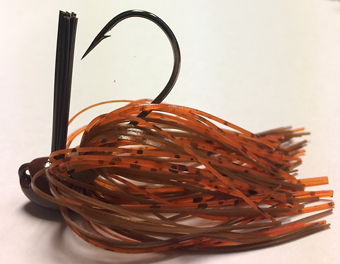 Tournament Grade GAMAKATSU Bama Craw Brush Jig