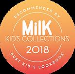 MILK Kid's collecton 2018 . Best Kid's Lookbook