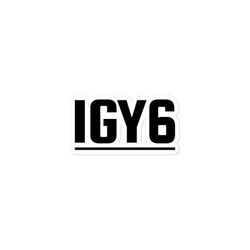 IGY6 - Bubble-free stickers