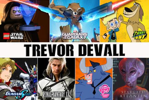 Trevor Devall - Voice Actor