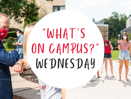 """WHAT'S ON CAMPUS?"" WEDNESDAY"