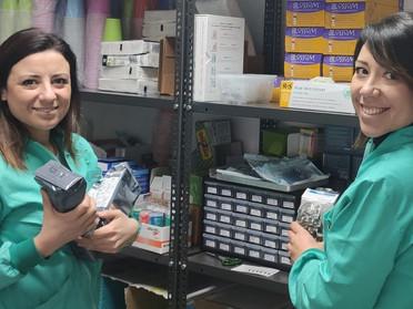 Sicurezza dietro le quinte dello Studio Dentistico Cané: la gestione del magazzino odontoiatrico.