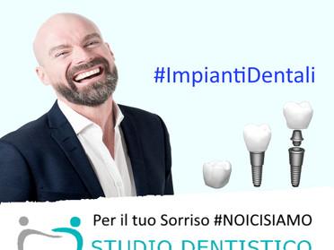Difficoltà a sorrdere per la mancanza di denti? Conosci gli Impianti Dentali Estetici?