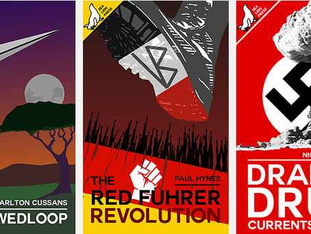 NEW RELEASES: Ruimtewedloop, The Red Führer: Revolution, Drake's Drum: Currents of Fate