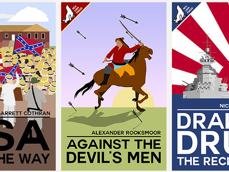 NEW RELEASES: Drake's Drum sequel, Confederate shenanigans, and Mongols in Italy