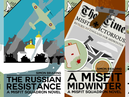 NEW RELEASES: The Misfit Squadron series