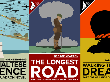 NEW RELEASES: The Maltese Defence, The Longest Road, and Walking Through Dreams