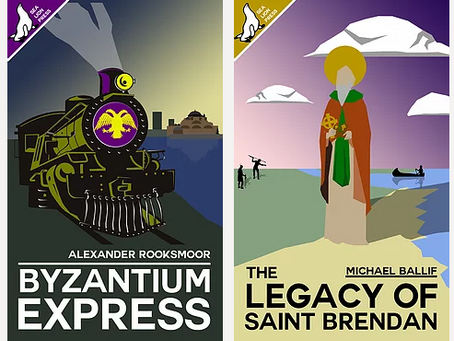 NEW RELEASES: 'Byzantium Express' and 'The Legacy of St Brendan'