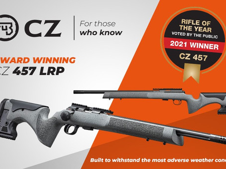"""CZ 457 wins """"Rifle of the year"""""""