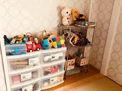 和室のおもちゃ