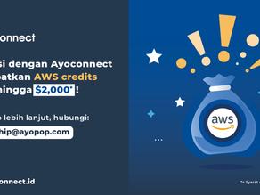 Integrasi dengan Ayoconnect dan dapatkan AWS Credits senilai $2000