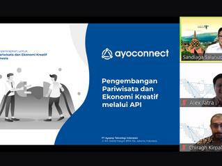 Ayoconnect dan Kemenparekraf Jajaki Peluang Kolaborasi