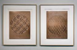 « Matrices cuivre (série Vitraux) »