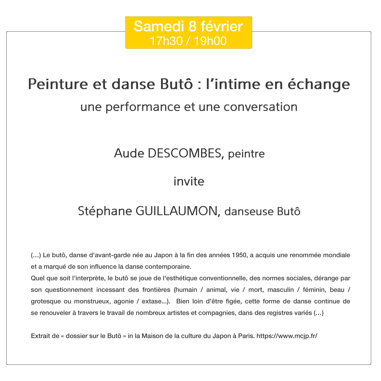 Performance de danse Butô