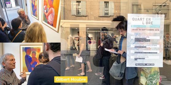 Vernissage de l'exposition de Gilbert Houbre
