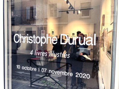 Exposition de Christophe Durual