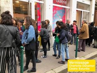Vernissage de Charlotte Denamur et Cédric Esturillo