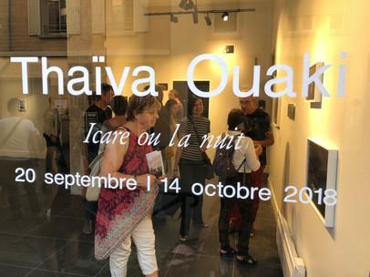 Vernissage de l'exposition de Thaïva Ouaki