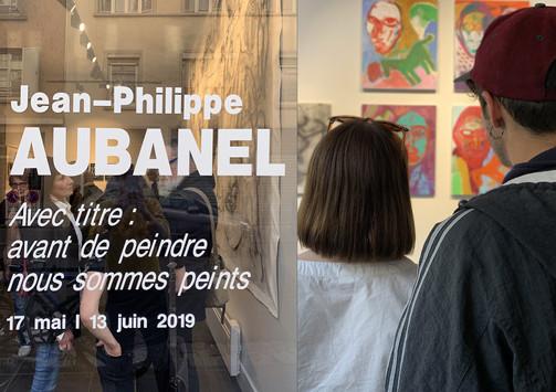 Vernissage de l'exposition de Jean-Philippe Aubanel