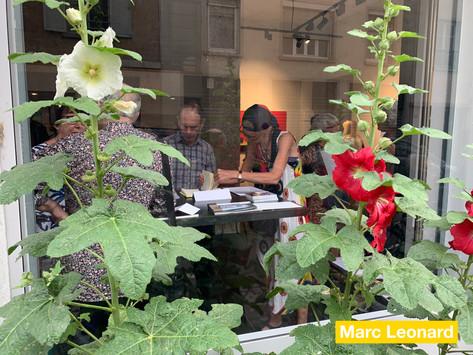Vernissage de l'exposition de Marc Leonard