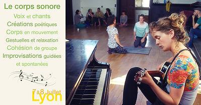 Atelier de chant et de danse