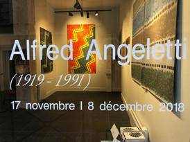 Vernissage de l'exposition d'Alfred Angeletti