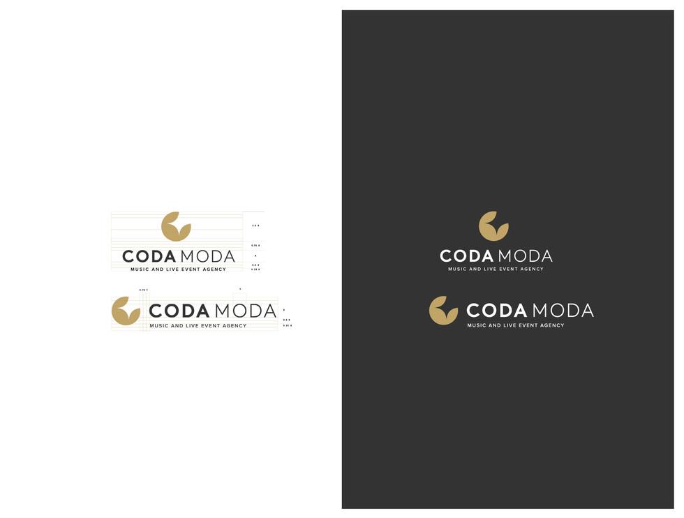 CODA MODA : Identity design / logo design
