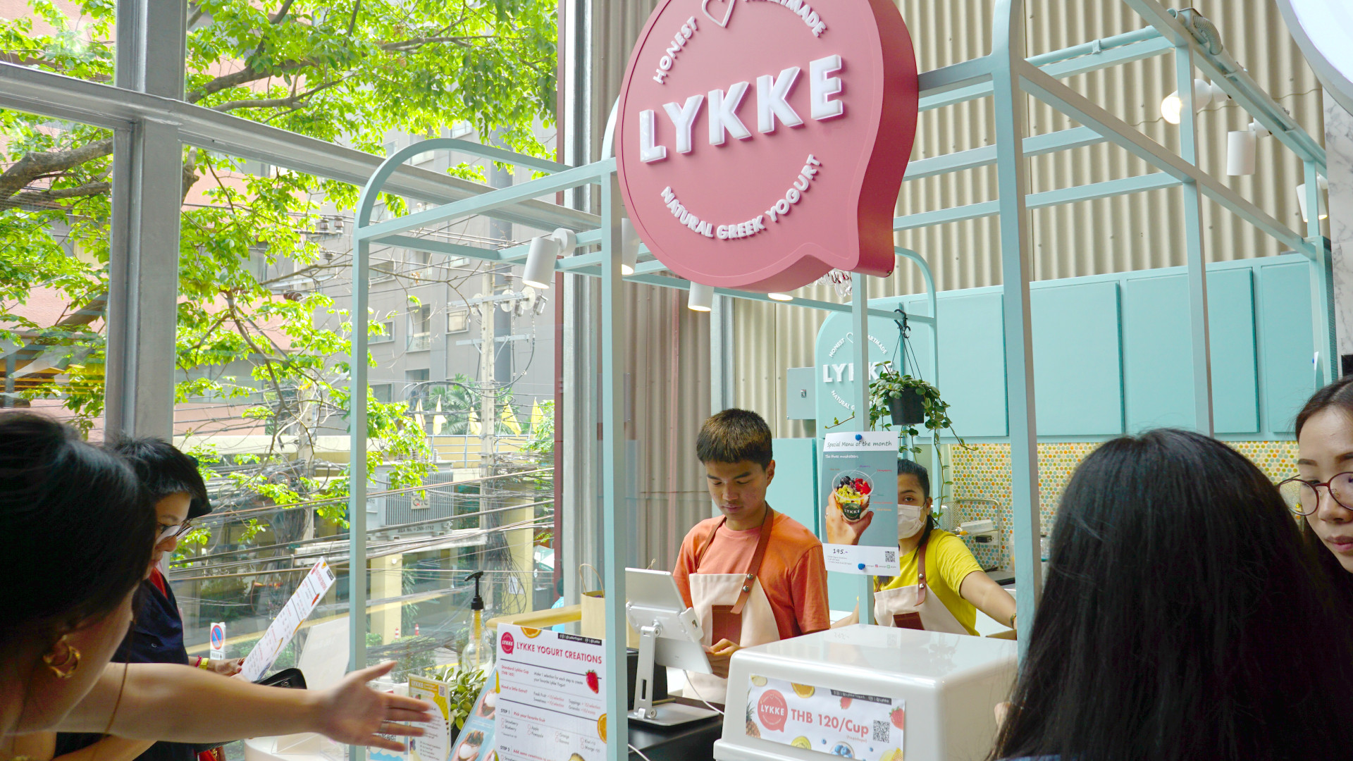 Lykke yogurt : Logo Identity Design