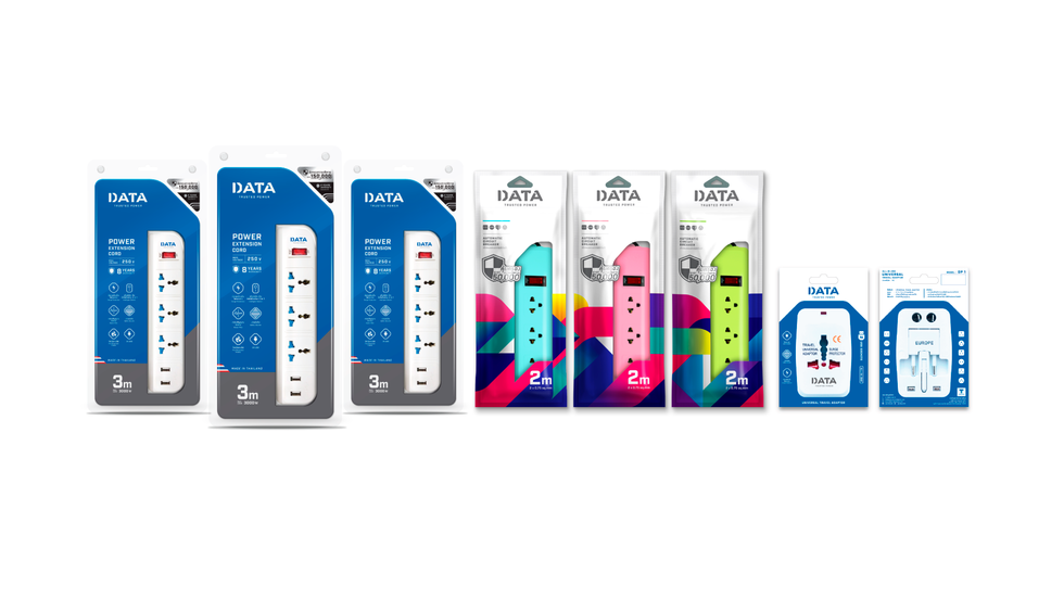 DATA POWER : Identity design / Packaging design