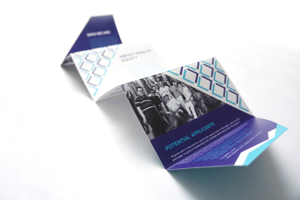 The Equity Initiative : Stationary and Premiums Design / Graphic design